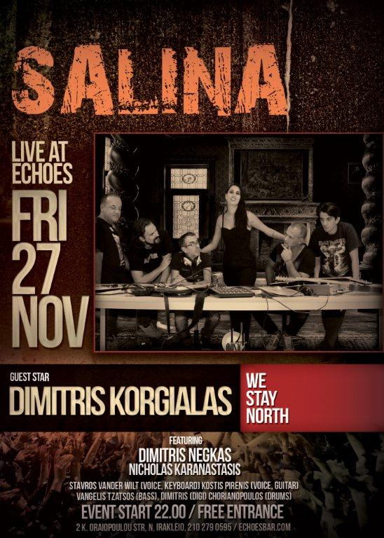Salina live @ Echoes (poster)