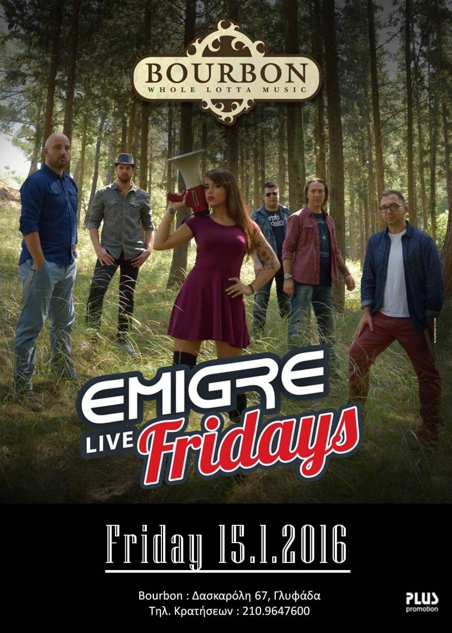 15.1.2016 EMIGRE poster @ Bourbon