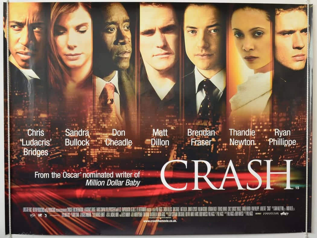 Crash: Cinema Quad Movie Poster