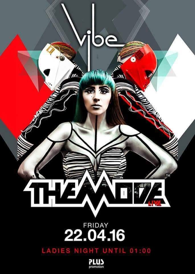 THE MODE live @ VIBE CLUB poster