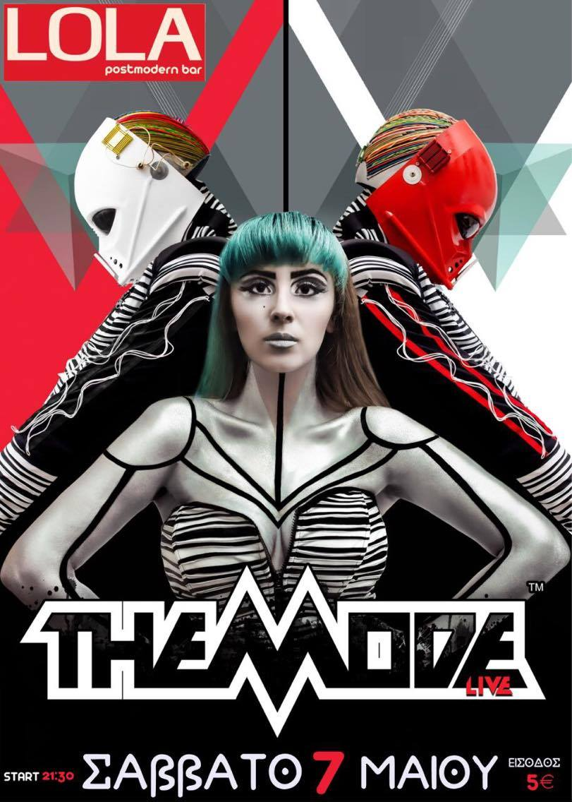 THE MODE Live @ Lola Postmodern Bar (poster)