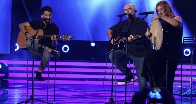 The X Factor 2 - 8ο Live - Μπάμπης Στόκας & Coda Project
